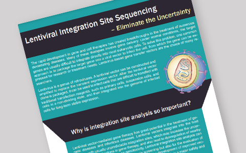 Lentiviral Integration Site Sequencing – Eliminate the Uncertainty